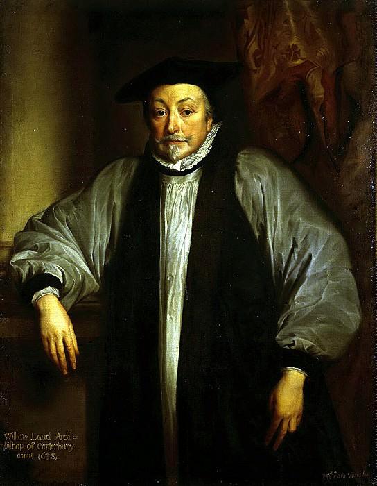 Van Dyck, Anthony - Portrait of William Laud. Hermitage ~ part 02