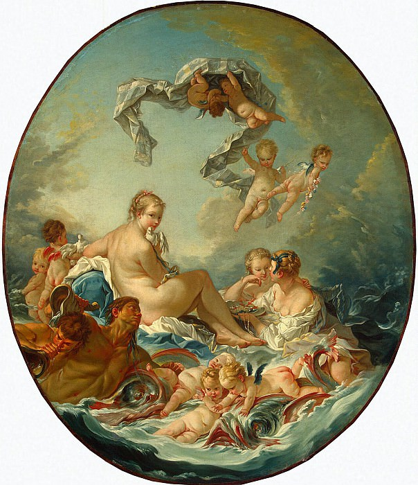 Boucher, Francois - Triumph of Venus. Hermitage ~ part 02