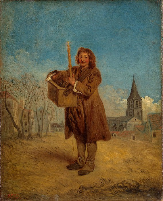 Watteau, Antoine - Savoyard with a marmot. Hermitage ~ part 02