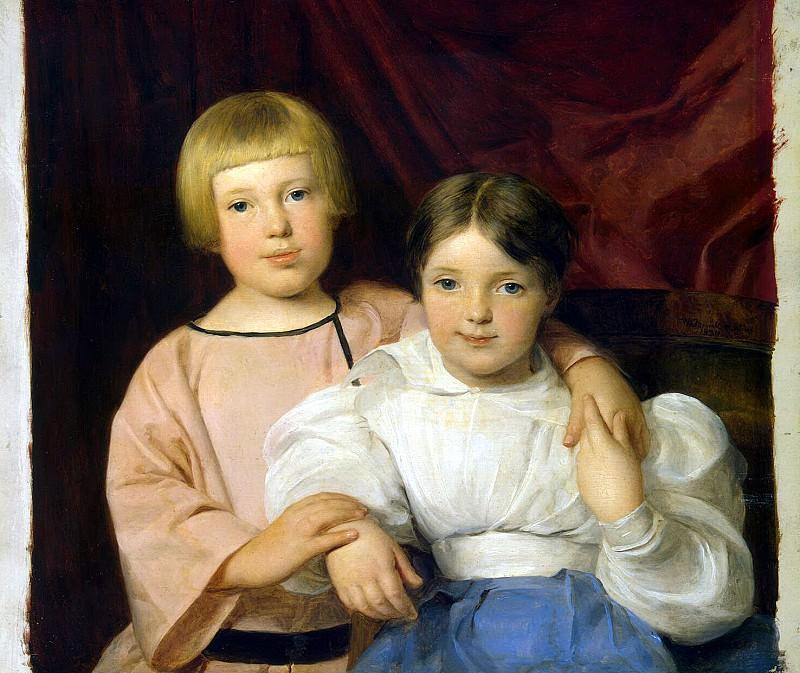 Waldmüller, Ferdinand Georg - Children. Hermitage ~ part 02