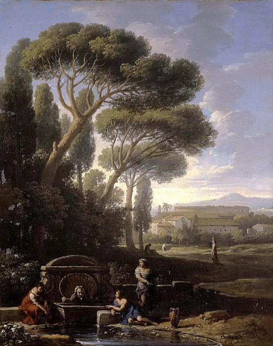 Bloom, Jan Frans van - Italian landscape. Hermitage ~ part 02