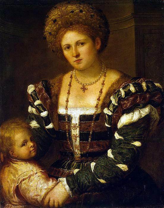 Bordon, Paris - Portrait of a Lady with a boy. Hermitage ~ part 02