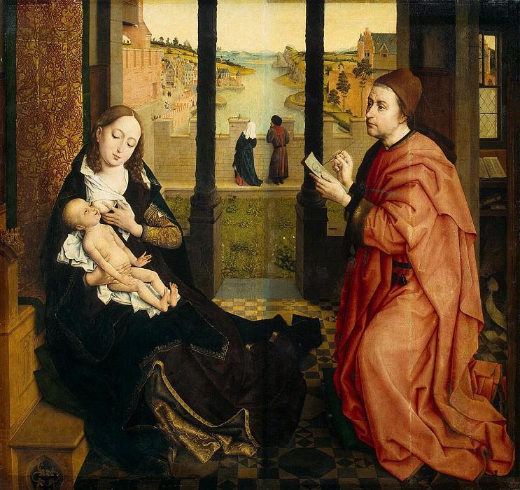 Вейден, Рогир ван дер - Св. Лука, рисующий Мадонну. Эрмитаж ~ часть 2