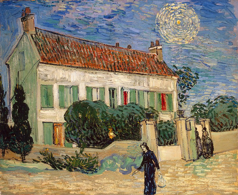 Van Gogh, Vincent - The White House at night. Hermitage ~ part 02