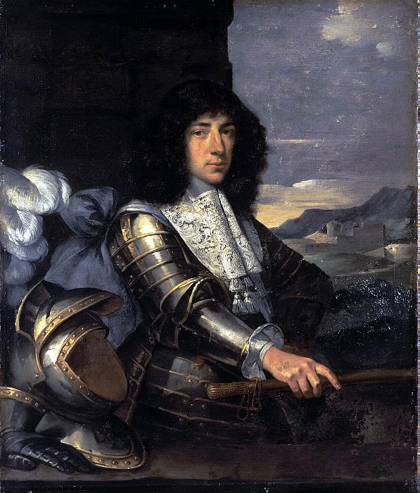 Bourdon, Sebastien - Portrait of a man in armor. Hermitage ~ part 02