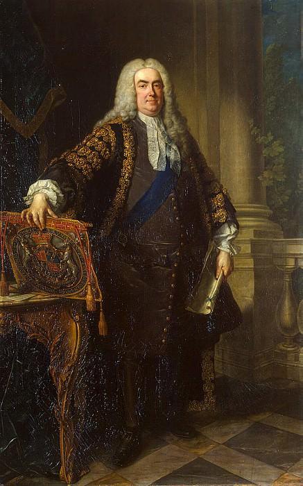 Vanloo, Jean-Baptiste - Portrait of Sir Robert Walpole. Hermitage ~ part 02