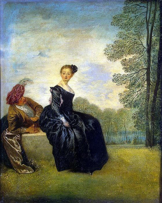 Antoine Watteau - Capricious. Hermitage ~ part 02