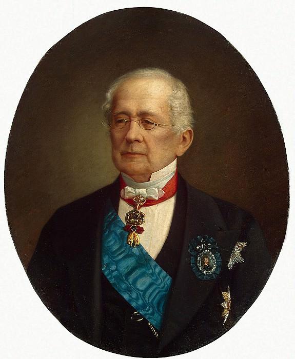 Bogatsky, Nicholas T. - Portrait of His Serene Highness Prince Alexander Mikhailovich Gorchakov. Hermitage ~ part 02