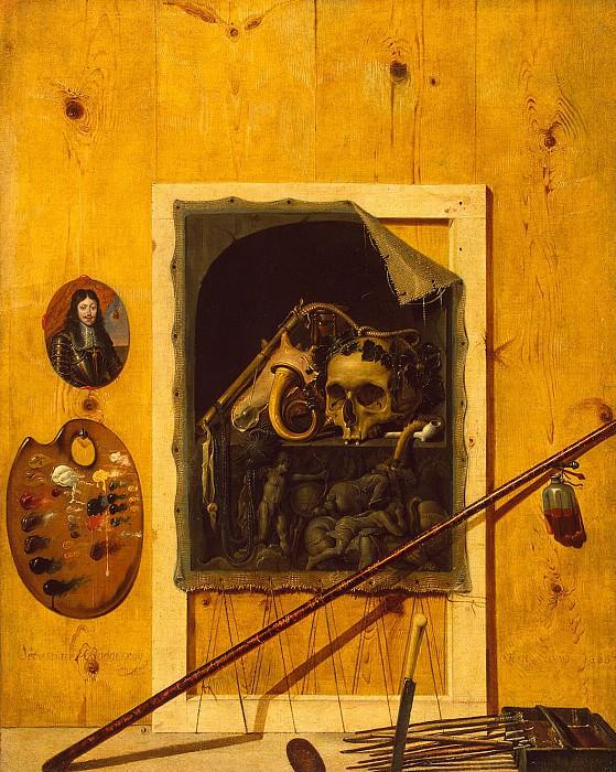 Bonnekrua Sebastian - Still life with skull. Hermitage ~ part 02