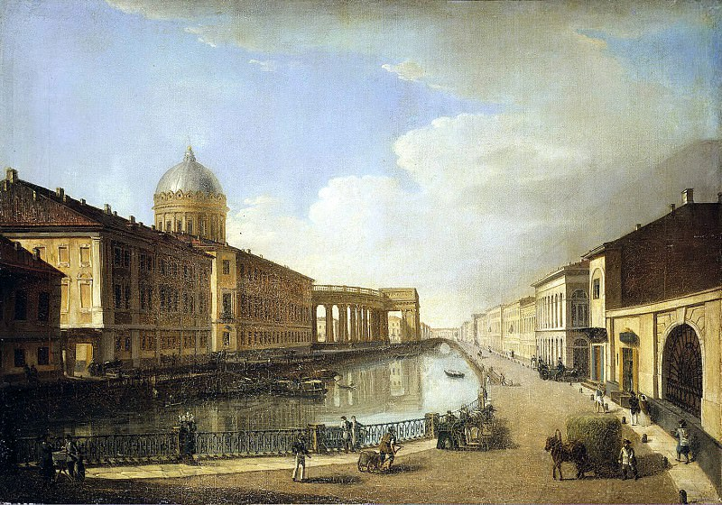 Vasiliev, Timothy A. - View of Kazan Cathedral. Hermitage ~ part 02