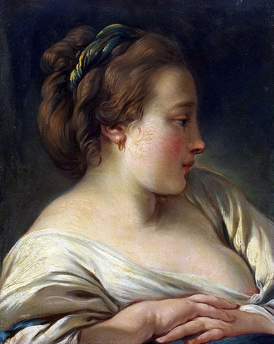 Boucher, Francois - Head Girls. Hermitage ~ part 02