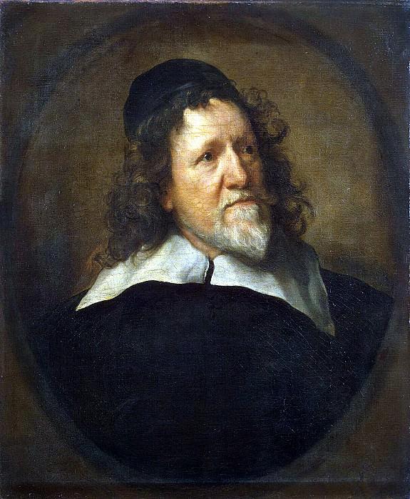 Van Dyck, Anthony - Portrait of Inigo Jones. Hermitage ~ part 02