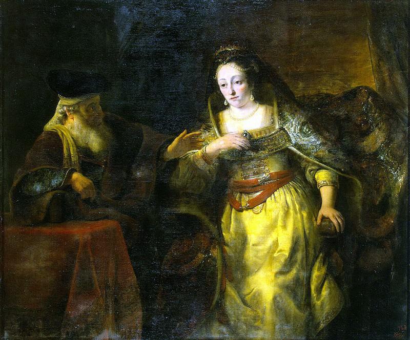 Бол, Фердинанд - Эсфирь и Мардохей. Эрмитаж ~ часть 2