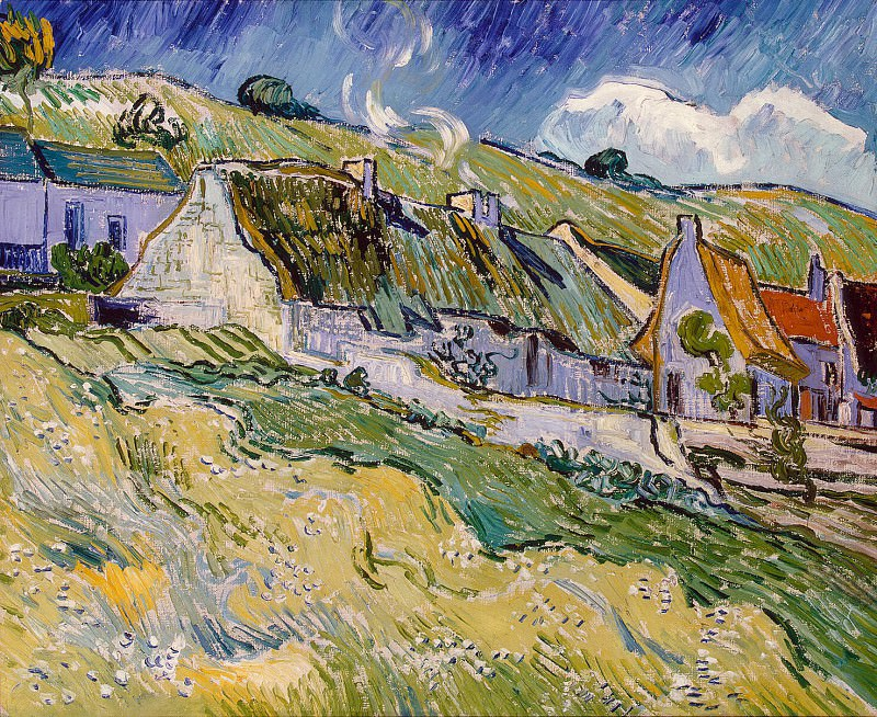 Van Gogh, Vincent - Cabins. Hermitage ~ part 02