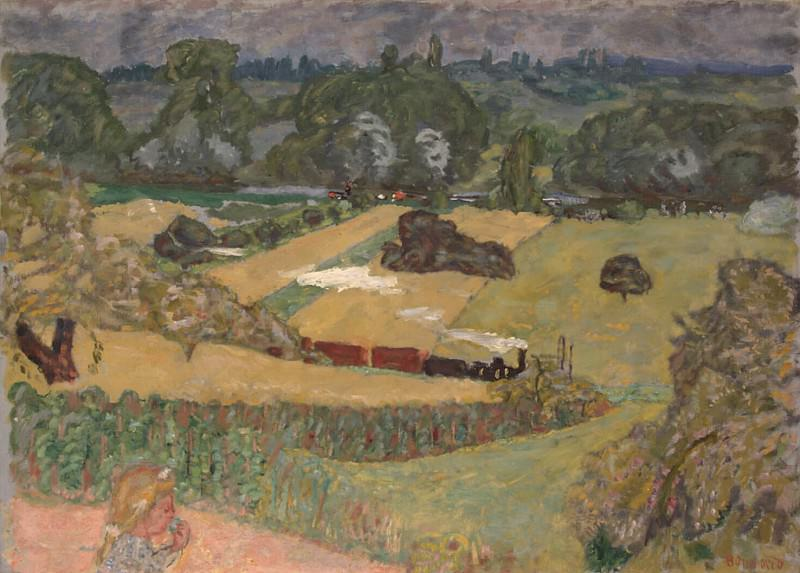 Bonnard, Pierre - train and barge.. Hermitage ~ part 02