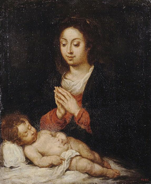 Бобадилья, Херонимо де - Мадонна со спящим младенцем Христом. Эрмитаж ~ часть 2