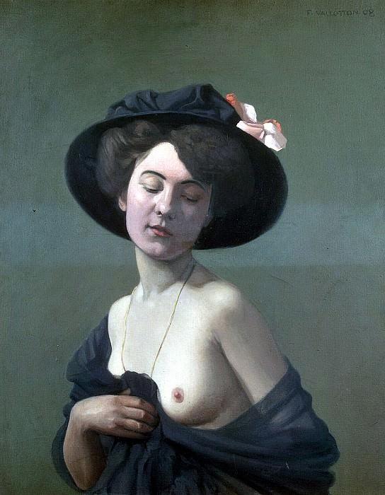 Vallotton Felix - Woman in a Black Hat. Hermitage ~ part 02