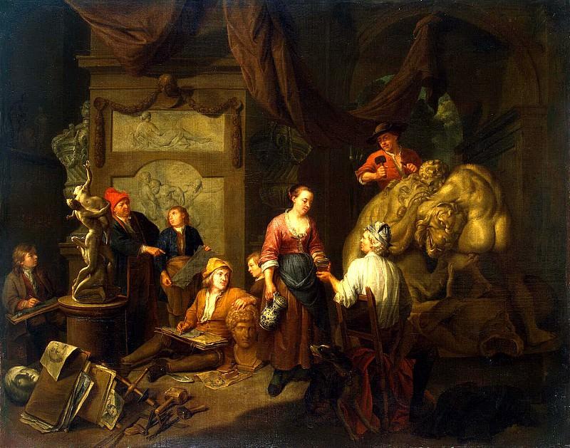 Bossche, Balthasar van den - sculptor. Hermitage ~ part 02