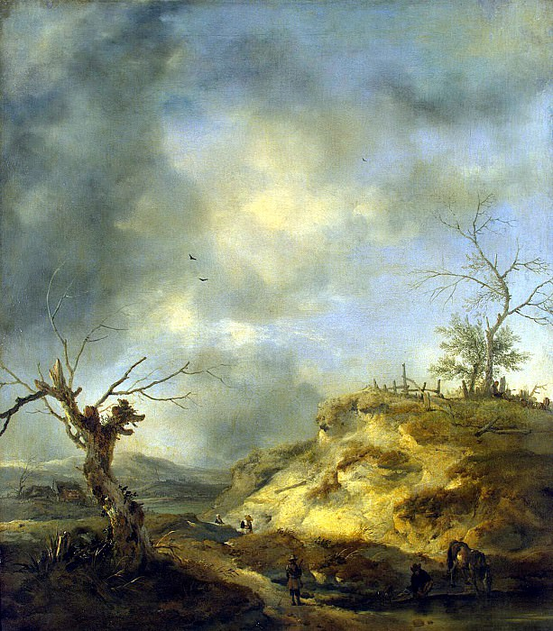 Vauverman, Philips - Type in the vicinity of Haarlem. Hermitage ~ part 02