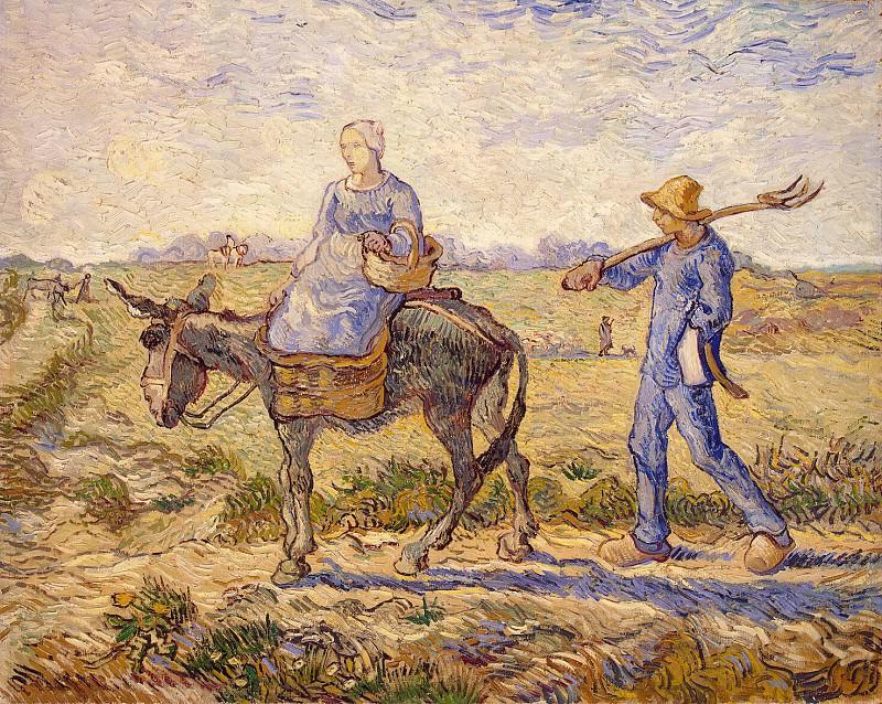 Ван Гог, Винсент - Утро. Отправление на работу. Эрмитаж ~ часть 2