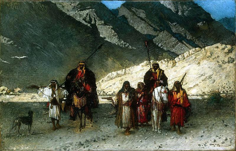 Бонна, Леон Жозеф Флорантен - Арабские шейхи в горах. Эрмитаж ~ часть 2