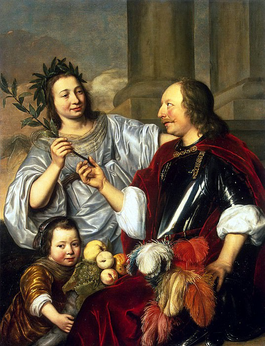 Bry, Jan de - Allegorical Family Portrait. Hermitage ~ part 02