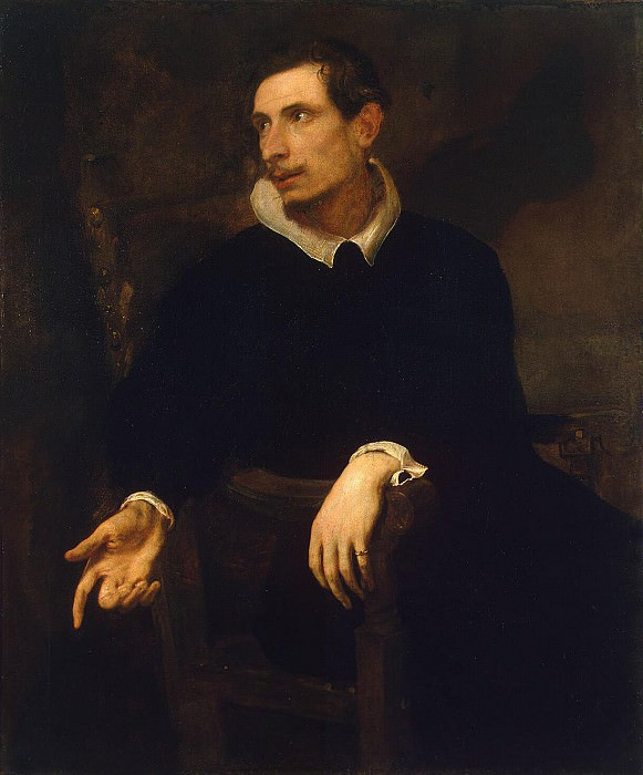 Van Dyck, Anthony - Portrait Virginio Cesarini. Hermitage ~ part 02