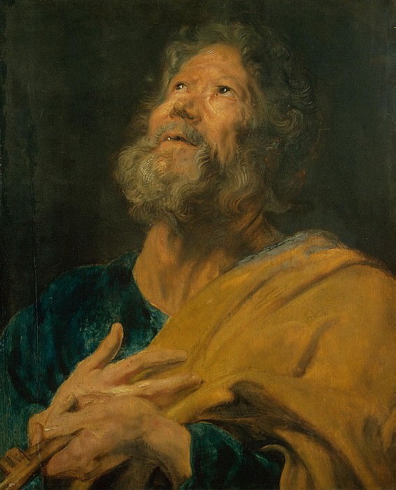 Van Dyck, Anthony - The Apostle Peter. Hermitage ~ part 02