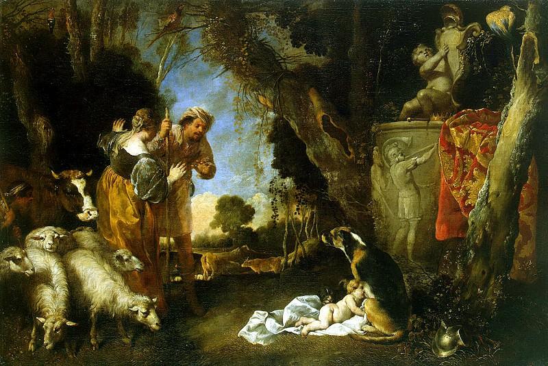Vassallo, Antonio Maria - Childhood of King Cyrus. Hermitage ~ part 02