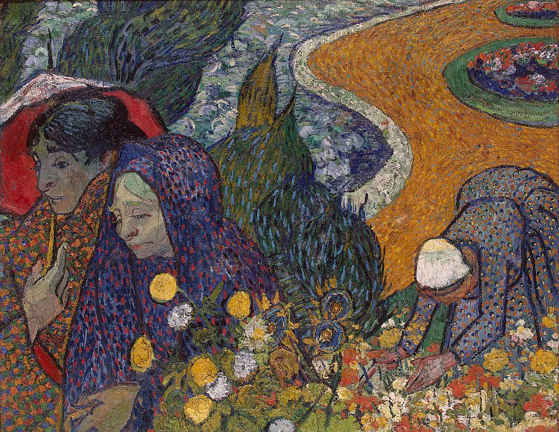 Van Gogh, Vincent - Remembering the garden at Etten. Hermitage ~ part 02