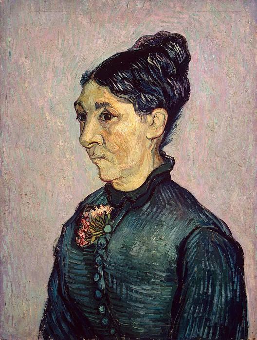 Van Gogh, Vincent - Portrait of Mrs. Trabyuk. Hermitage ~ part 02