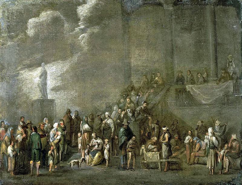 Val, Cornelis de - Distribution of bread. Hermitage ~ part 02