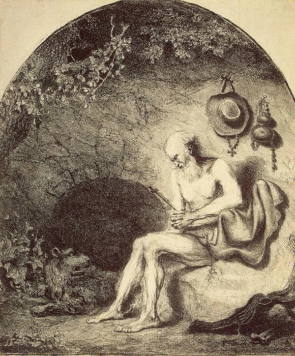 Bol, Ferdinand - St. Jerome. Hermitage ~ part 02