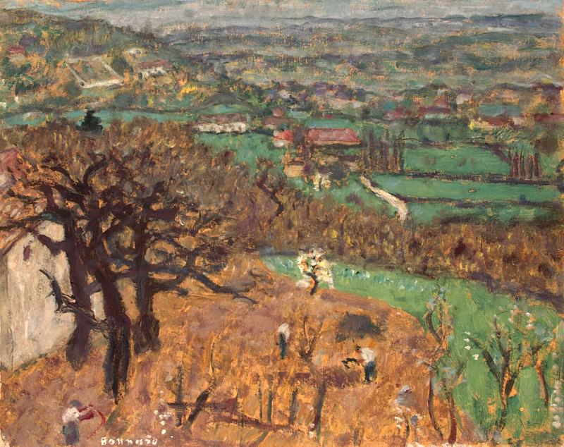 Bonnard, Pierre - Dauphine Landscape. Hermitage ~ part 02