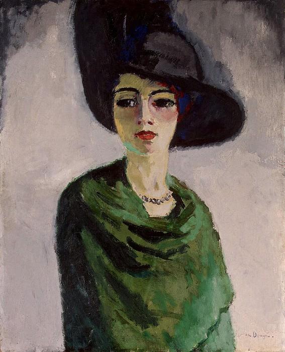 Van Dongen, Kees - Woman in a Black Hat. Hermitage ~ part 02