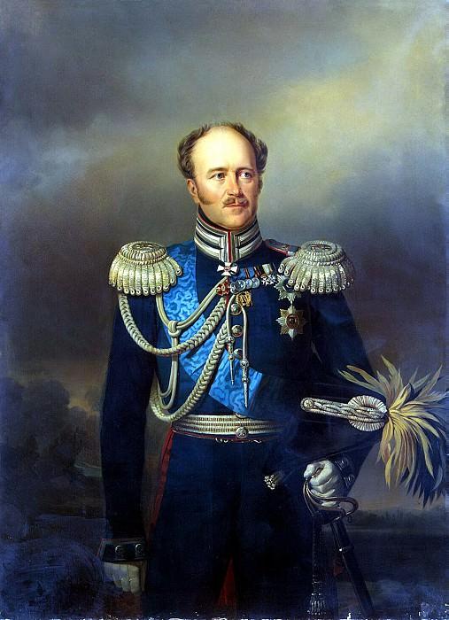 Boatman, Yegor Ivanovich - Portrait of Alexander von Benckendorff. Hermitage ~ part 02