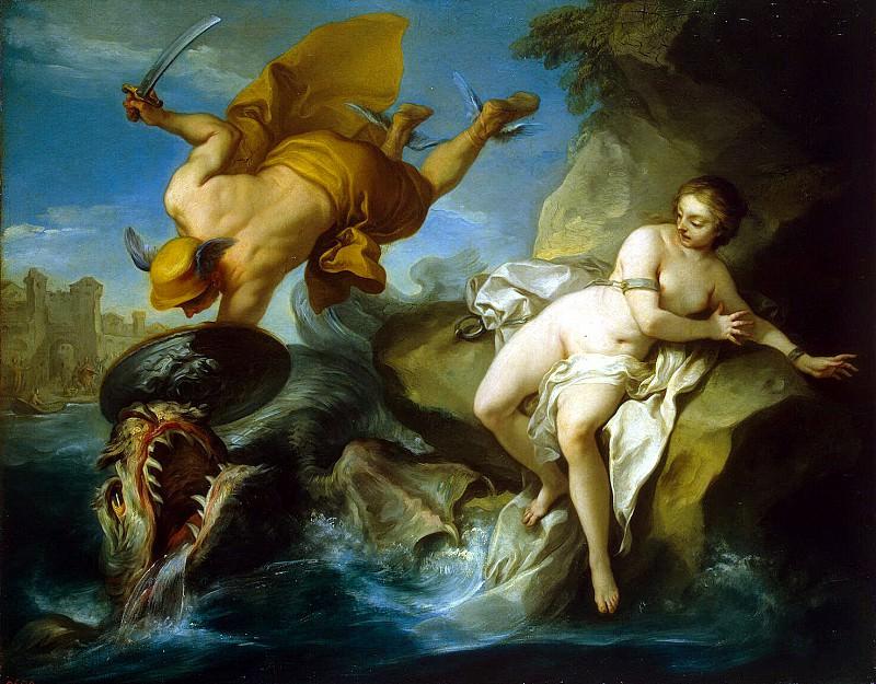 Ванлоо, Шарль - Персей и Андромеда. Эрмитаж ~ часть 2