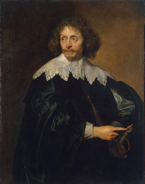 Van Dyck, Anthony - Portrait of Sir Thomas Chaloner. Hermitage ~ part 02
