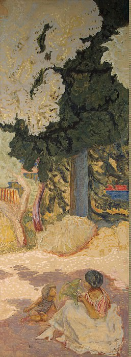 Pierre Bonnard, Pierre - In the Mediterranean Sea. Right panel. Hermitage ~ part 02
