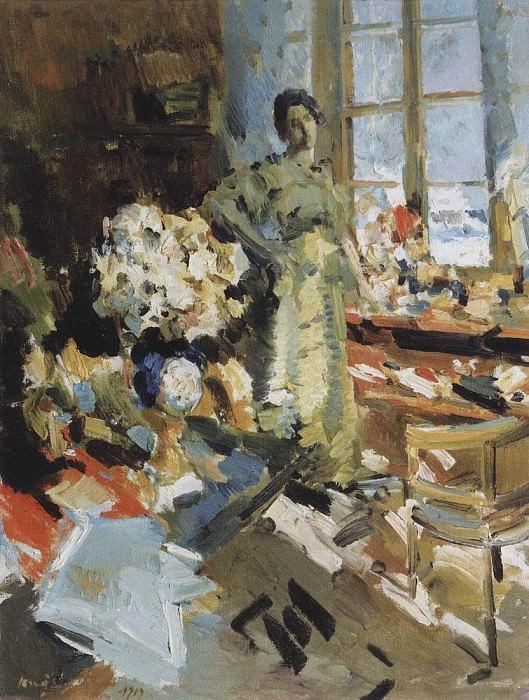 winter sun. 1919. Konstantin Alekseevich Korovin