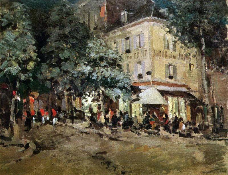 Street in Vichy. 1911. Konstantin Alekseevich Korovin