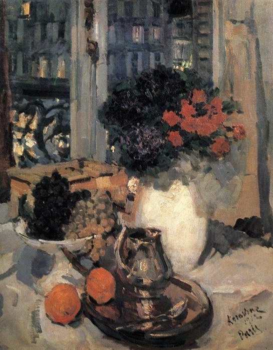 Still Life. 1912. Konstantin Alekseevich Korovin