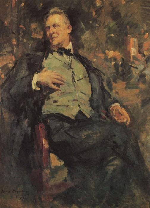 Portrait FIShalyapin. 1921. Konstantin Alekseevich Korovin