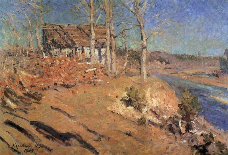Осенний пейзаж. 1909. Коровин Константин Алексеевич