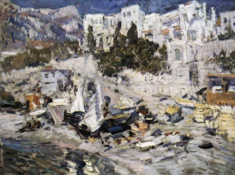 Alupka. 1912. Konstantin Alekseevich Korovin