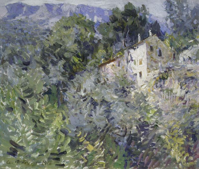 In the south of France. 1908. Konstantin Alekseevich Korovin