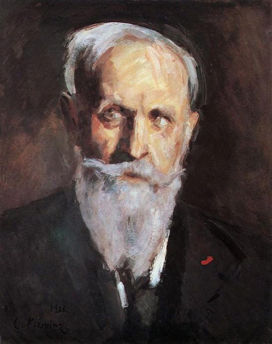 Self-portrait. 1938. Konstantin Alekseevich Korovin