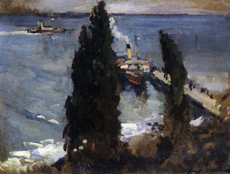 Gurzuf evening. 1912. Konstantin Alekseevich Korovin