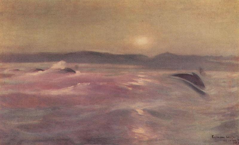 Arctic Ocean. Murmansk. 1913. Konstantin Alekseevich Korovin