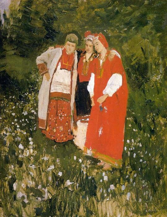 North idilliya1. 1886. Konstantin Alekseevich Korovin